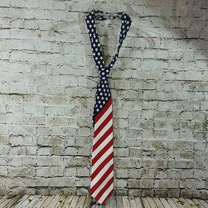 patriotic tie men's tie guys